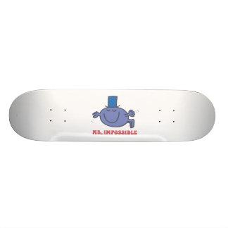 Mr. Impossible In Flight Skateboard Deck