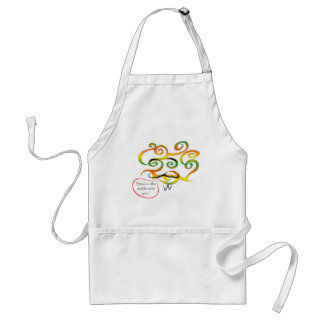 Mr in the middle adult apron