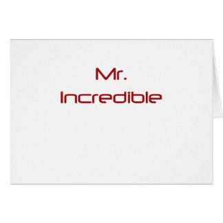 Mr. Incredible Card