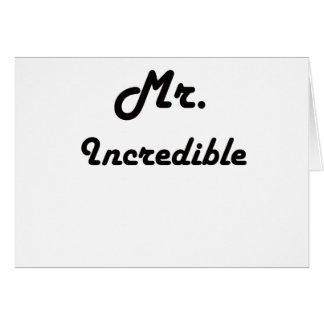 Mr. Incredible! Card