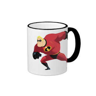 Mr. Incredible Disney Ringer Coffee Mug