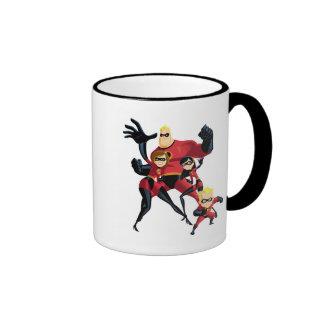 Mr. Incredible Elastigirl Violet Parr Dash Parr Ringer Mug