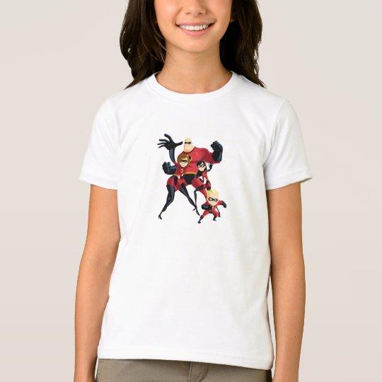 Mr. Incredible Elastigirl Violet Parr Dash Parr T-Shirt