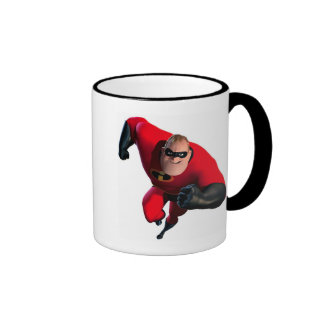 Mr. Incredible Running Disney Ringer Mug