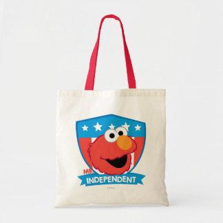 Mr. Independent Elmo Tote Bag