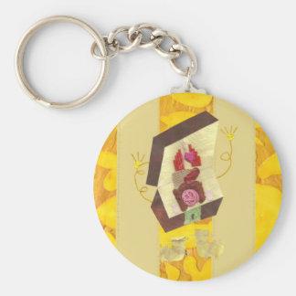 Mr Inside Out Man Keyring Keychain