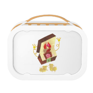 Mr Inside Out Man Lunchbox