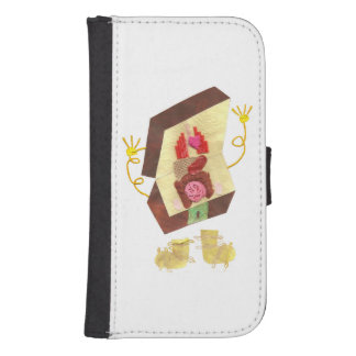 Mr Inside Out Man Samsung Galaxy S4 Wallet