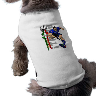 Mr Italian Stallion Forza Azzurri Italy 2010 gifts Pet Tshirt
