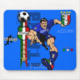 Mr Italian Stallion Forza Azzurri Italy 2010 gifts Mouse Pad