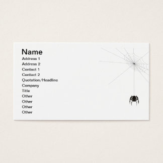 Mr. Itsy Bitsy Business Card