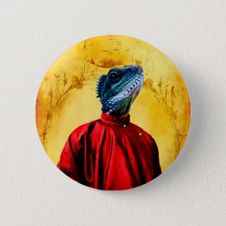 Mr. Jacobson - Iguana: Button