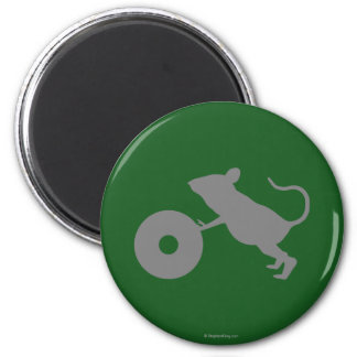 Mr. Jingles from Green Mile 2 Inch Round Magnet