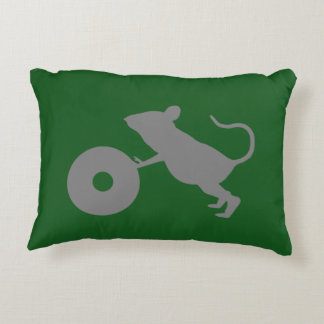 Mr. Jingles from Green Mile Accent Pillow