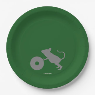 Mr. Jingles from Green Mile Paper Plate
