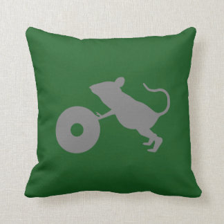 Mr. Jingles from Green Mile Throw Pillow