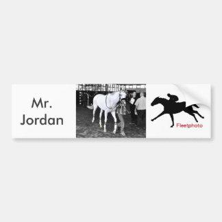 Mr. Jordan Bumper Sticker