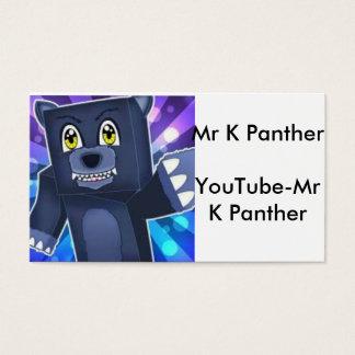 Mr K Panther Cards