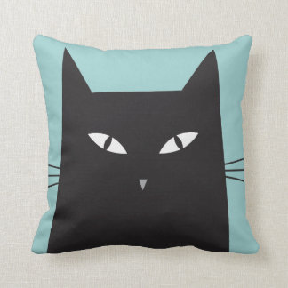 Mr.Katz series- Tanner. Customize-able background Throw Pillow