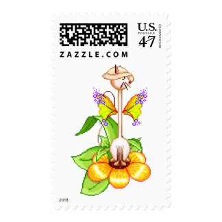 Mr. Kitty Siamese Cat Postage
