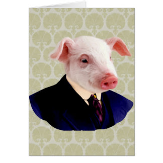 Mr. Langdon - Pig: Card