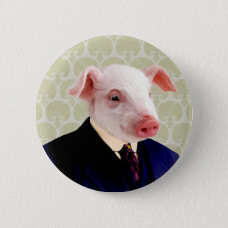 Mr. Langdon - Pig: Pinback Button