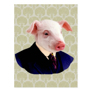 Mr. Langdon - Pig: Postcard