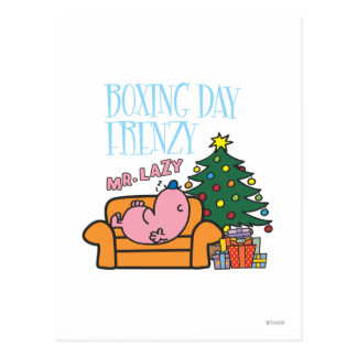 Mr. Lazy Resting On A Couch Postcard