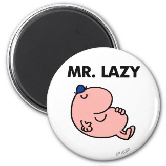Mr. Lazy Snoozing Away Magnet