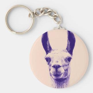 Mr Llama Keychain