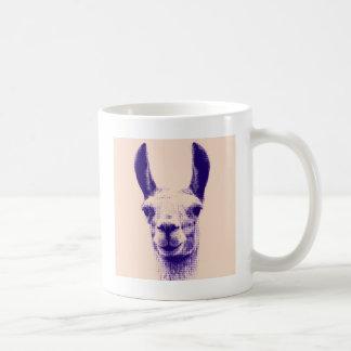 Mr Llama Classic White Coffee Mug