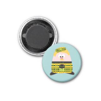 Mr Mac Haggis 1 Inch Round Magnet