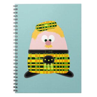Mr Mac Haggis Spiral Notebook