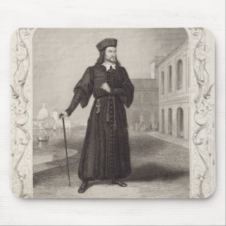 Mr Macready as Shylock, Act I Scene 3, in 'The Mer Mouse Pad