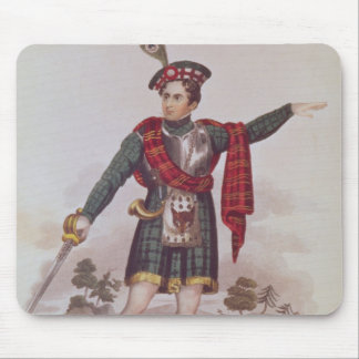 Mr. Macready in the role of Rob Roy Macgregor Mouse Pad