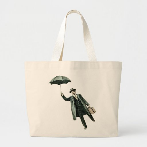 Mr. Magic & his flying Umbrella Tote Bags