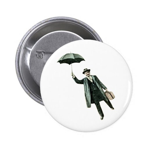 Mr. Magic & his flying Umbrella Pin