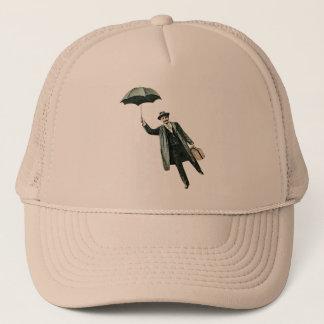 Mr. Magic & his flying Umbrella Trucker Hat