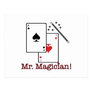 Mr. Magician! Postcard