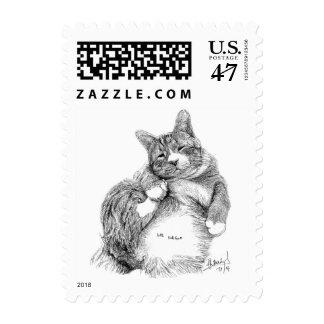 Mr. Magoo's FranFran  Postage Stamp