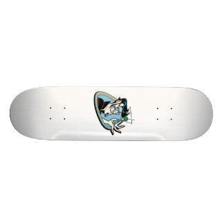 Mr Martini retro hipster Skateboard