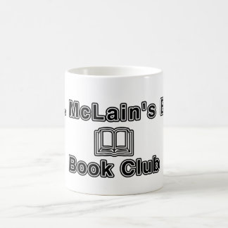 Mr. McLain ESL Book Club Classic White Coffee Mug