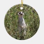 Mr Meerkat Christmas Ornament