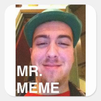 Mr. Meme Fatass loud Fedora 20 pack stickers