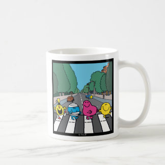 Mr. Men Abbey Road Walkers Coffee Mug