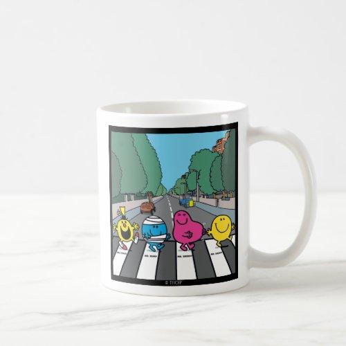Mr Men Abbey Road Walkers Coffee Mug