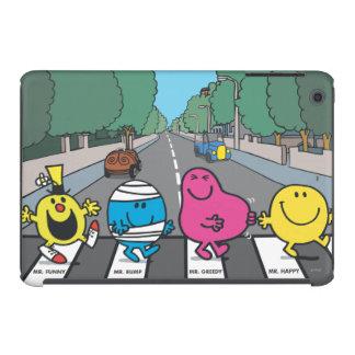 Mr. Men Abbey Road Walkers iPad Mini Covers
