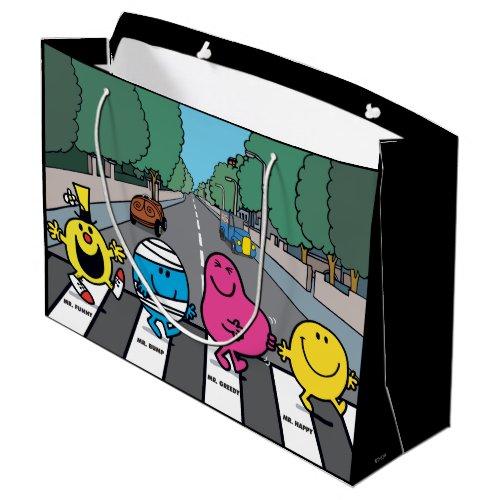 Mr Men Abbey Road Walkers Large Gift Bag