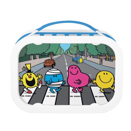 Mr Men Abbey Road Walkers Lunch Box