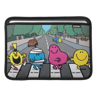 Mr. Men Abbey Road Walkers Sleeves For MacBook Air